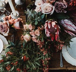 How to Create Floral Centrepieces for a Boho Party