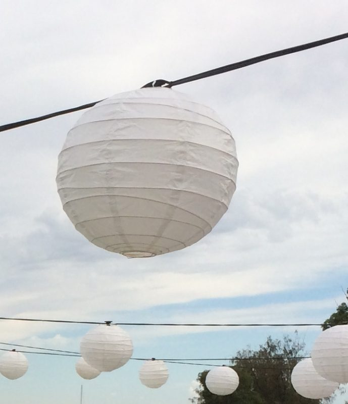 Party Lights Hire In Perth Chinese Lanterns Festoon And