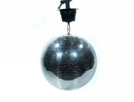 Mirror Ball 30cm With Motor Perth Party Hire