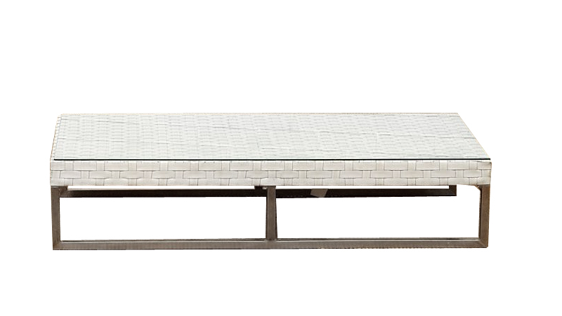 Wicker white furniture outdoor coffee table glass top perth party hire White wicker coffee table