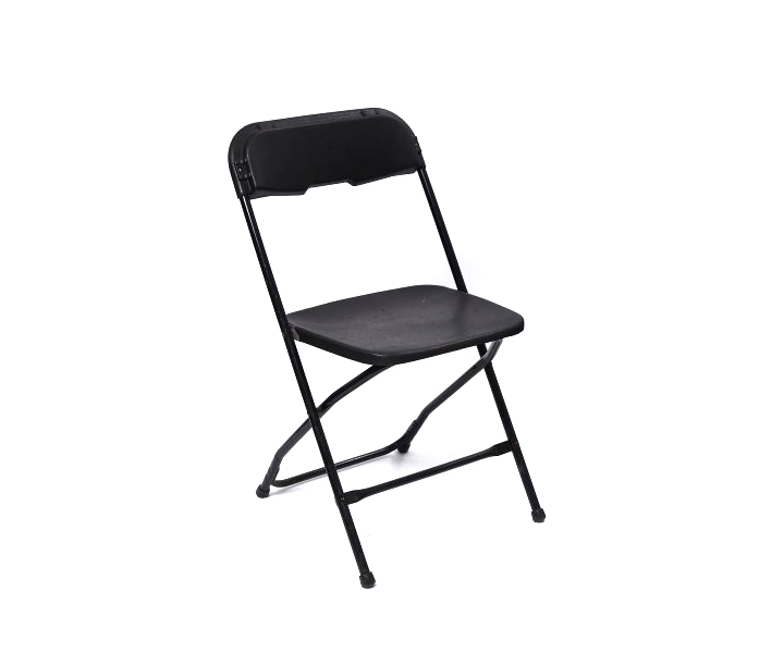 Chair Folding Black