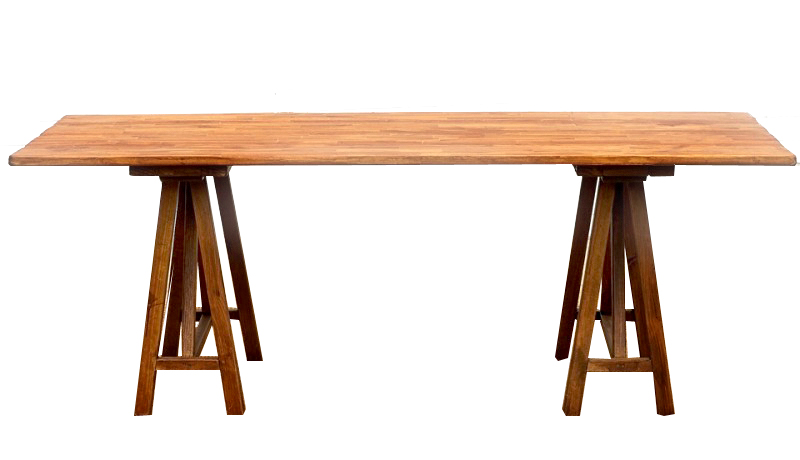 Rustic Low Wooden Table Hire Perth Party Hire Wa