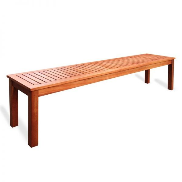 Bench Timber Eucalyptus Outdoor Furniture For Hire