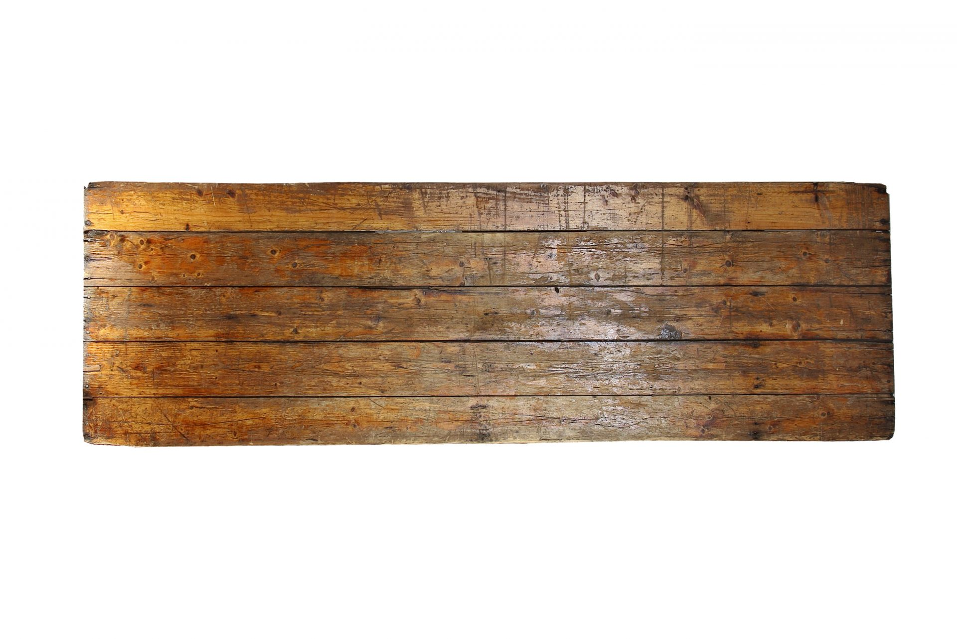 2 4 8′ rustic trestle table top