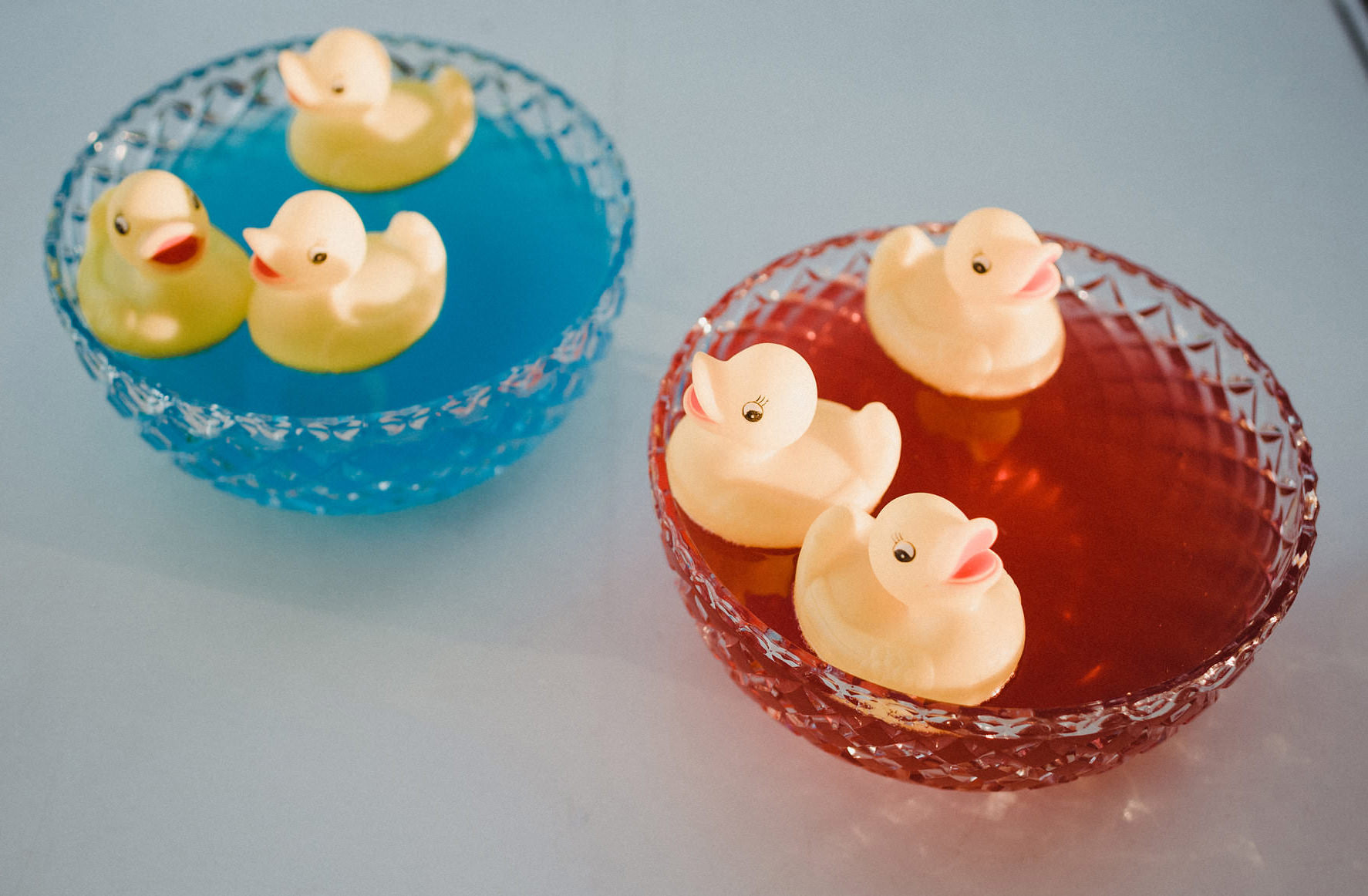 Boys and Girls Baby Reveal Punch Bowls