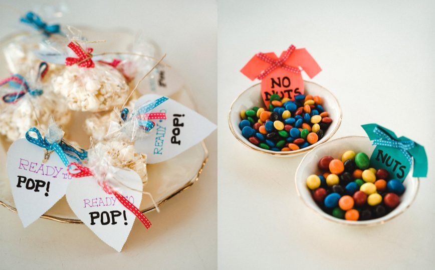 Ready to Pop Popcorn | Nuts and No Nuts M&Ms