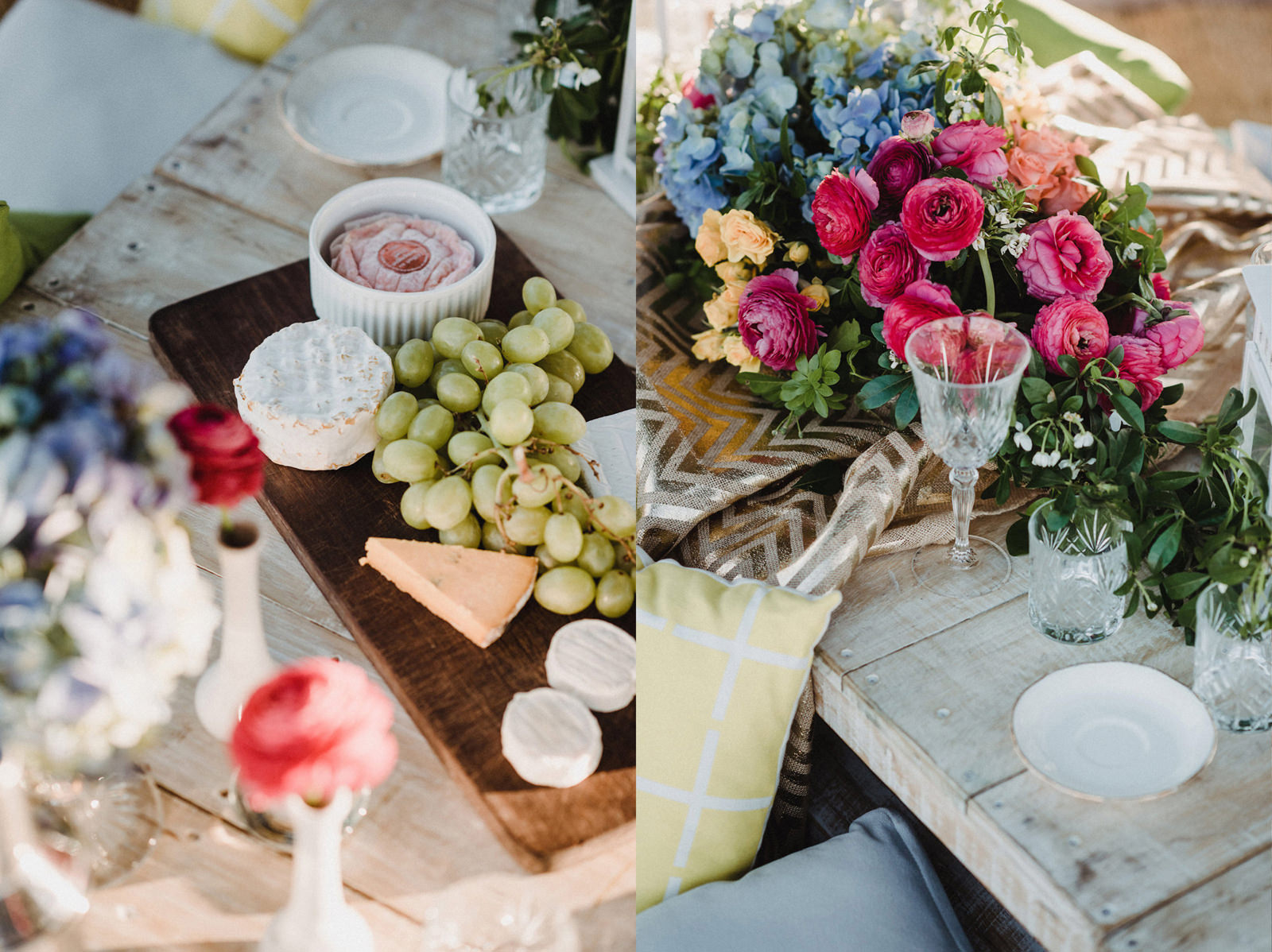Casual Table Setting Hire