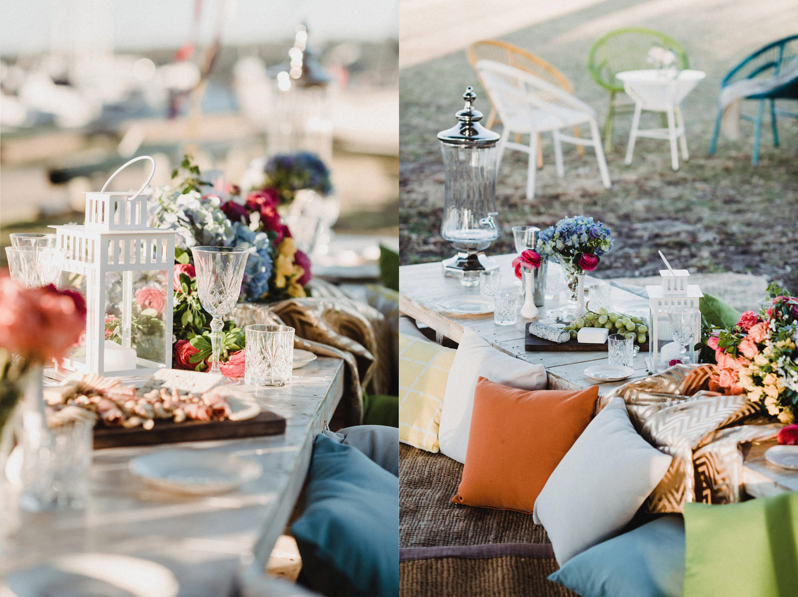 Garden Party Table Setting Hire