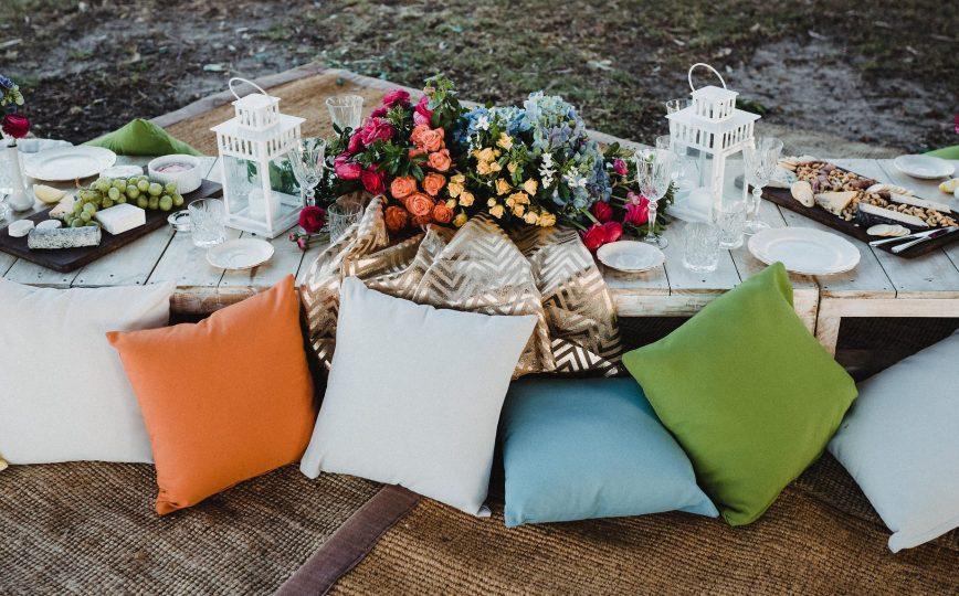 Colourful Garden Party
