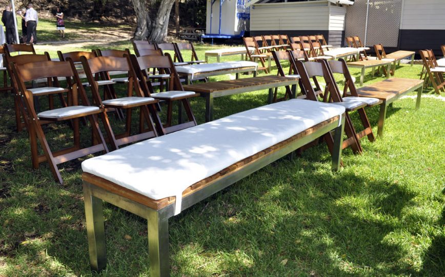 Reception ceremony seating