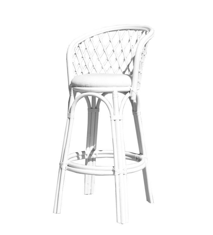 Surprising Cane White Seat Bar Stool Hire Perth Party Hire Wa Inzonedesignstudio Interior Chair Design Inzonedesignstudiocom