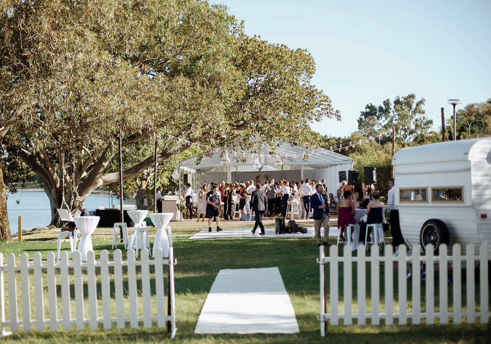 White Carpet, White Picket Fence Hire