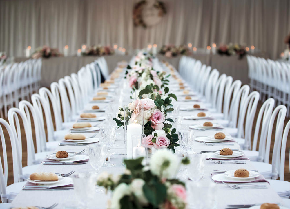 Table Settings With Perth Party Hire Equipment Gallery Wa