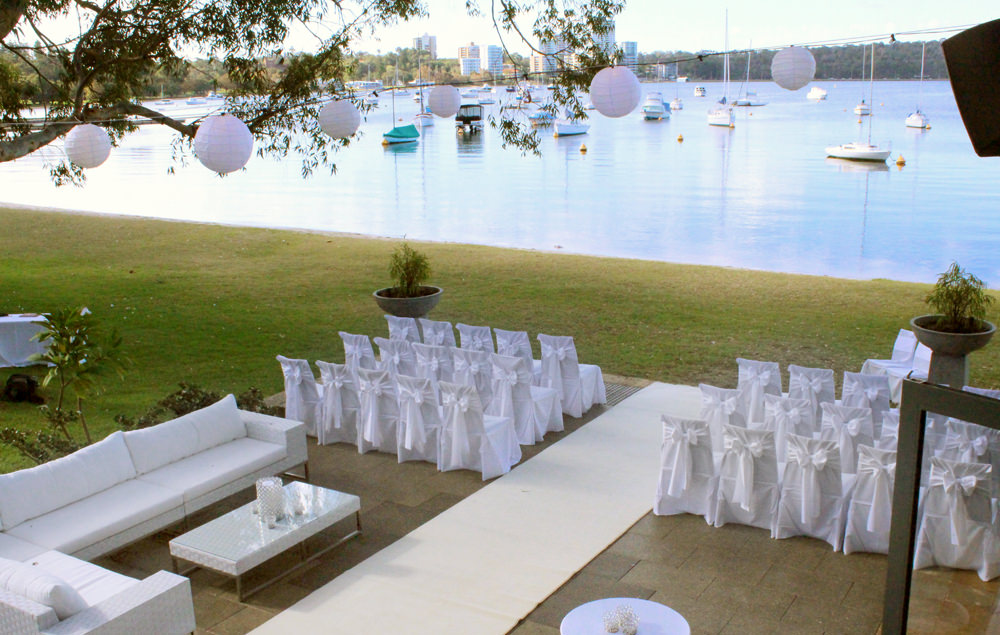 White Folding Chairs, Carpet  and Lounge Hire