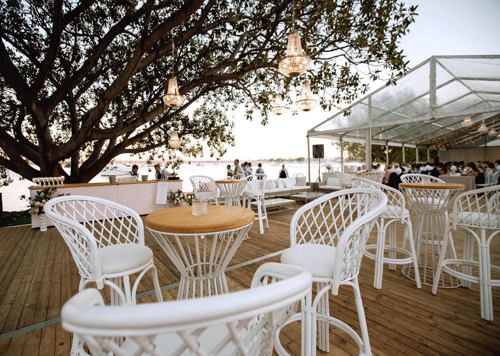 Coastal Hamptons Bar Stool