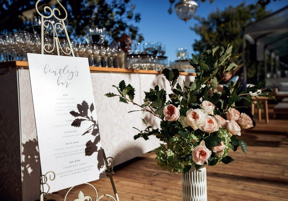 Blush Pink Bar Hire For Weddings And Events Perth Party Hire