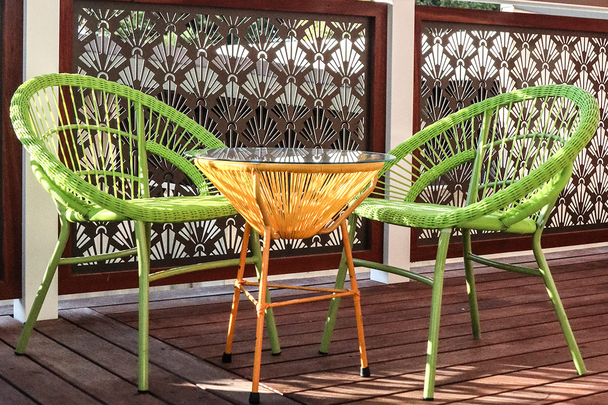 Outdoor furniture for party hire