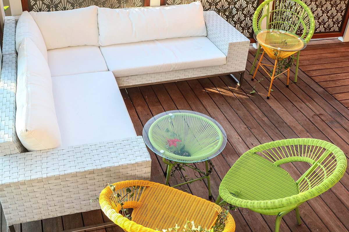 Furniture for party hire outdoor