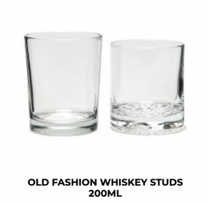 Old Fashion Whiskey Glassware Hire