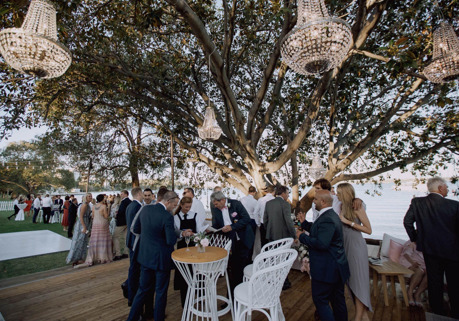 Matilda Bay Wedding under the Trees - Photography - Nick White Weddings