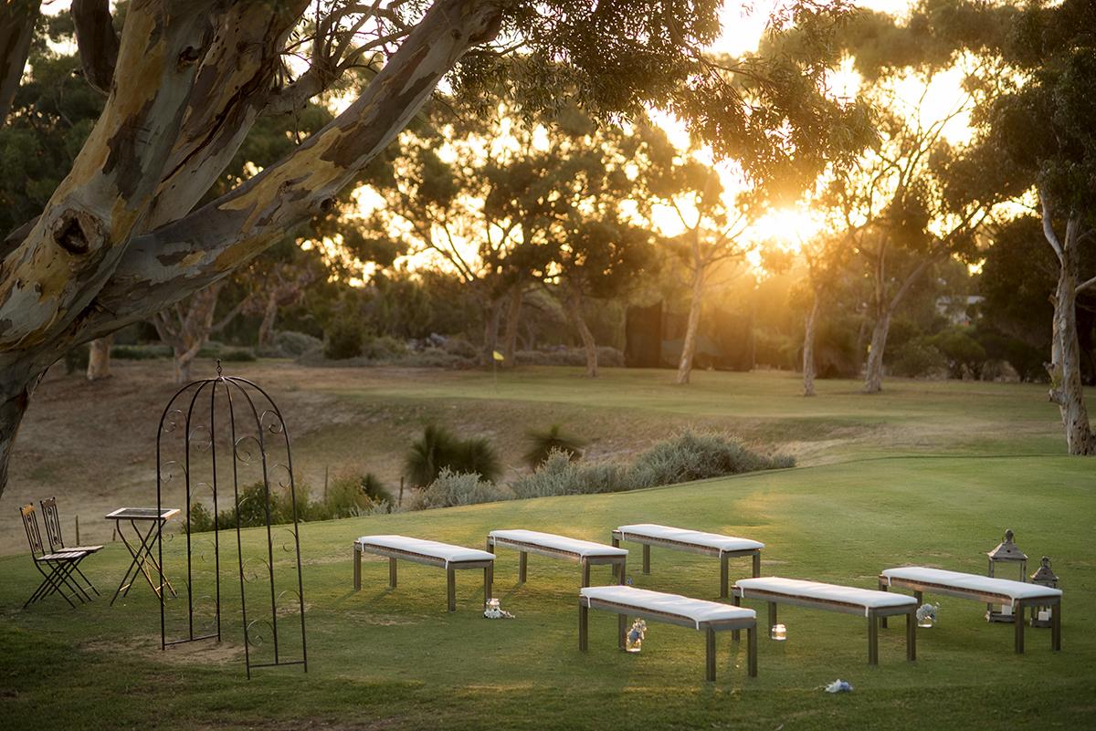 Mosman Park Golf Course Wedding Ceremony | Photographer Diana Simcoe