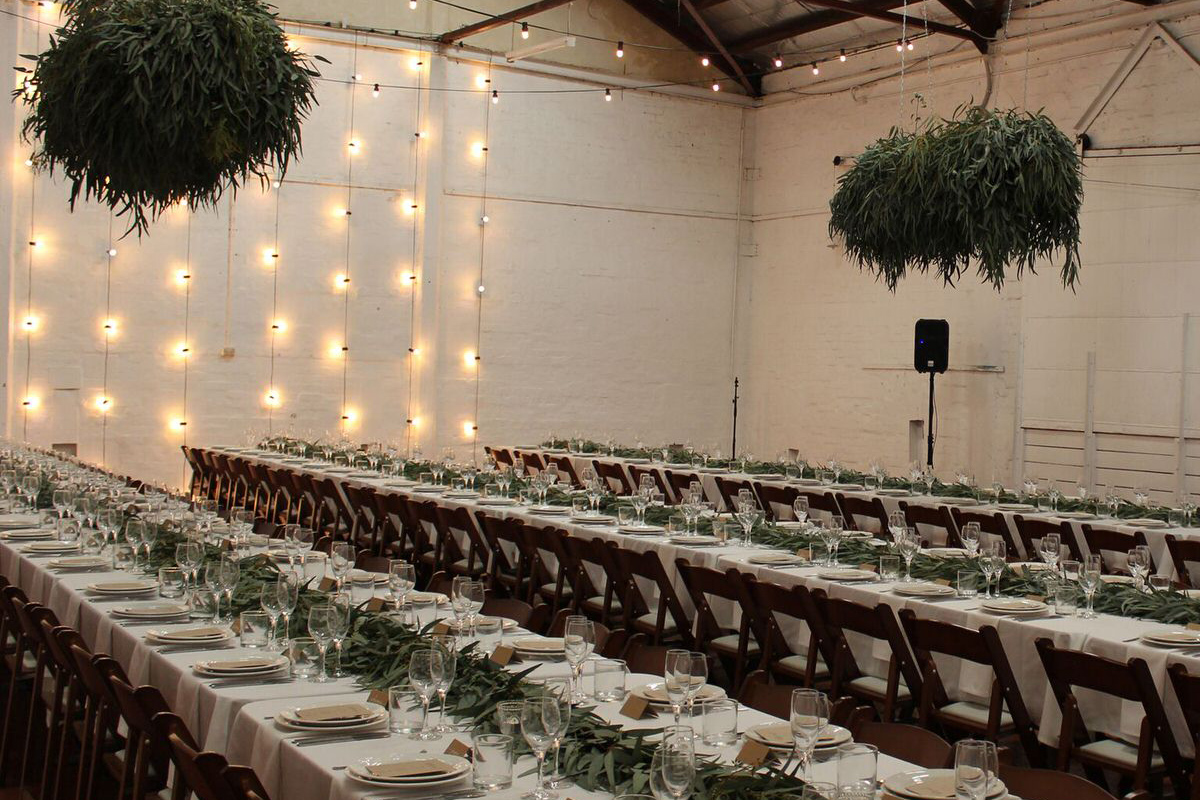 Christmas Venue setting