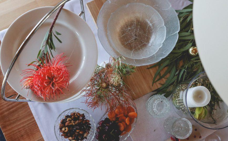 Australian table decorations