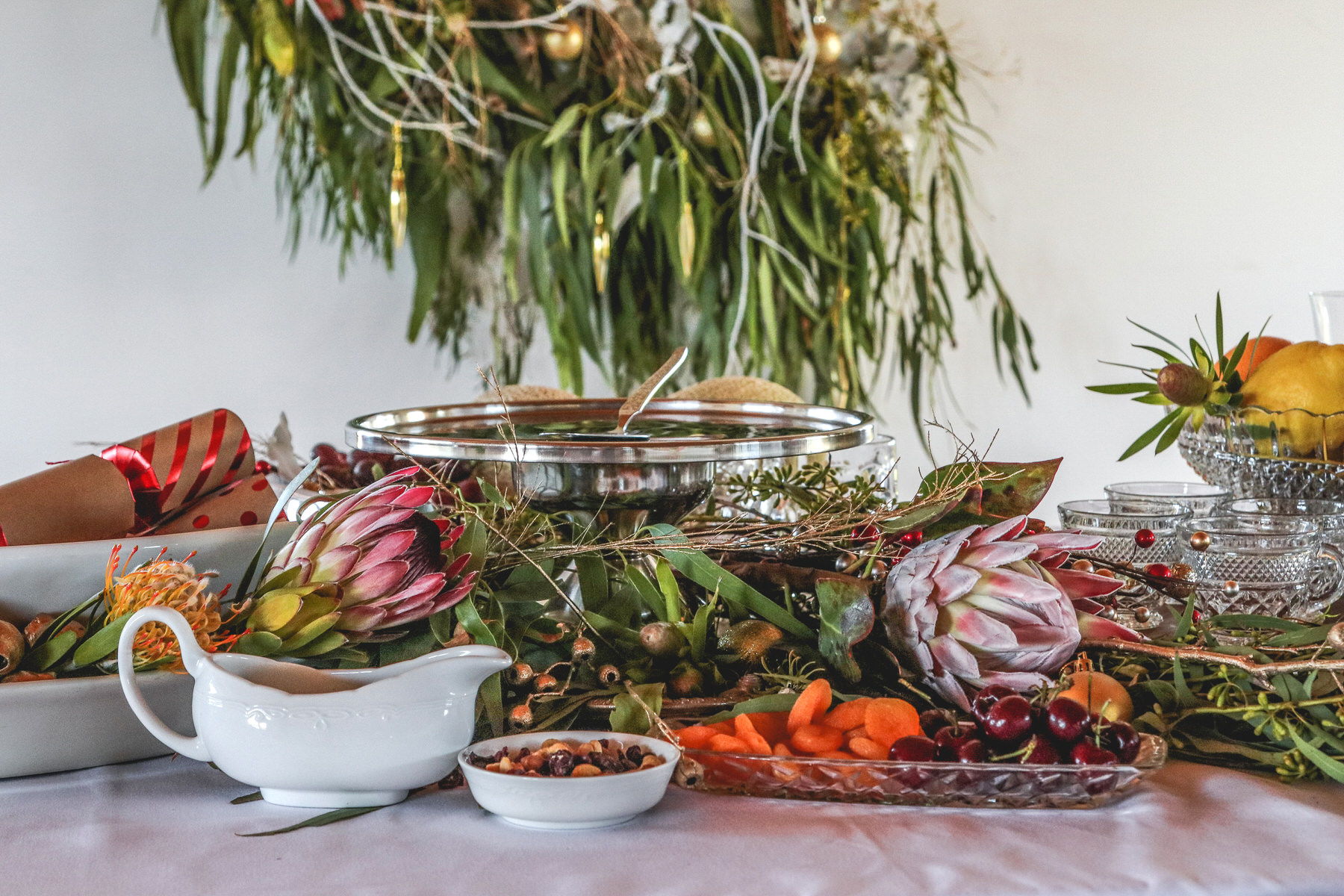 Aussie Christmas table